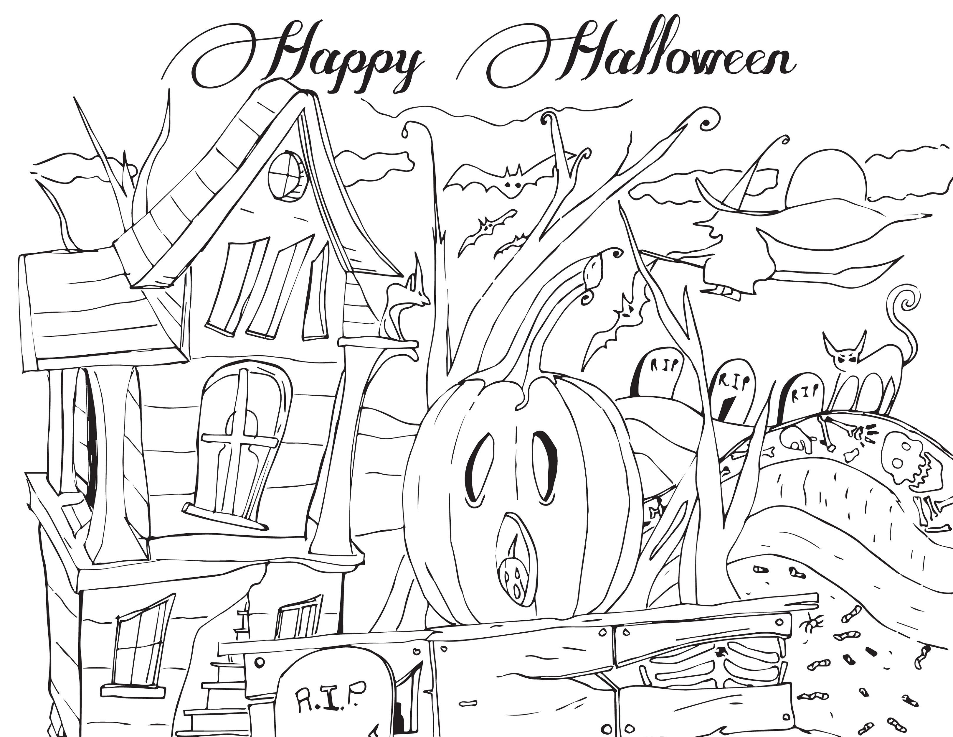 Halloween-Coloring-Sheets-To-Print