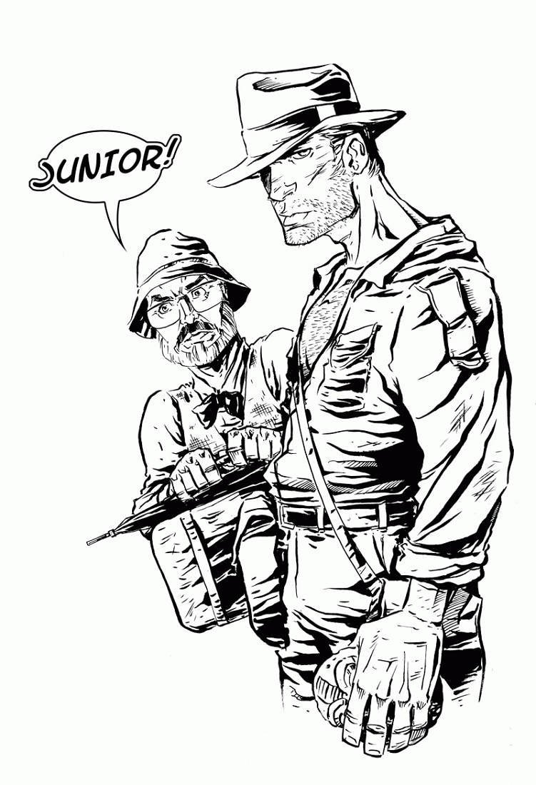 Indiana Jones Coloring Pages For Adult