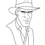 Indiana Jones Coloring Pages Printable
