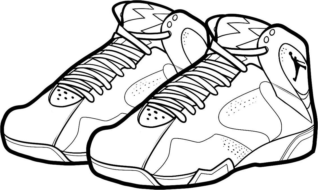 Jordan 11 Coloring Page Printable