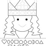 Kindergarten Activity Sheets Shape Cut And Paste