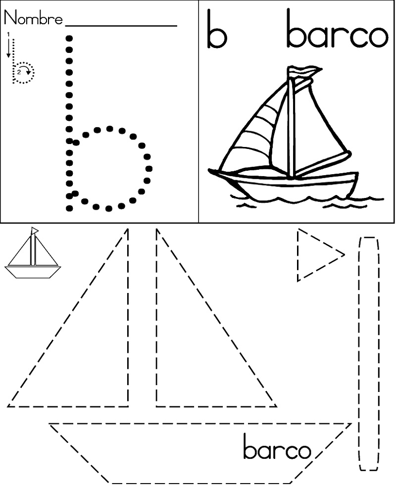 Kindergarten Activity Sheets Tracing
