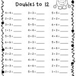 Maths For 6 Year Olds Worksheets Doubles