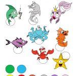 Preschool Printable Activities Colors