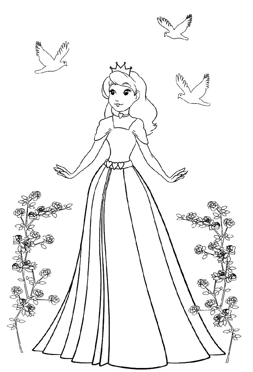 Princess Coloring Free