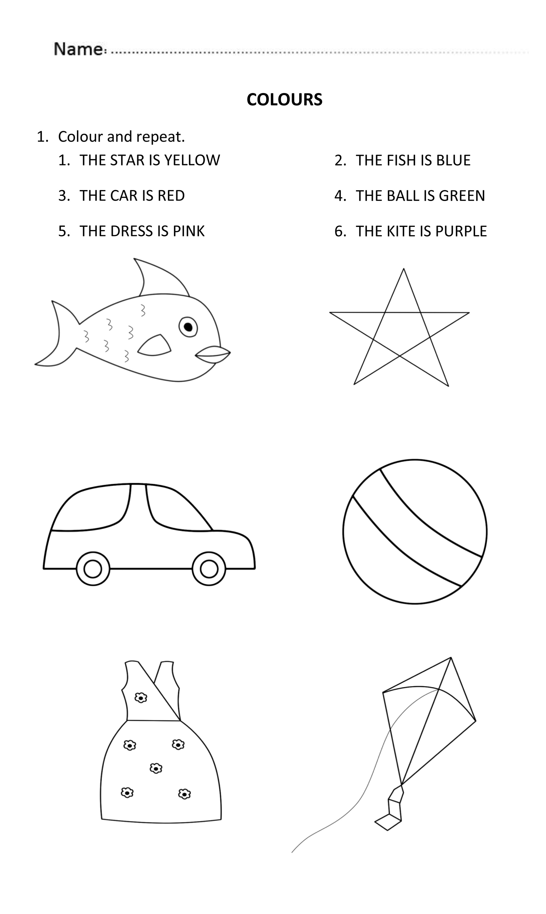 Printable Activities For 6 Year Olds K5 Worksheets
