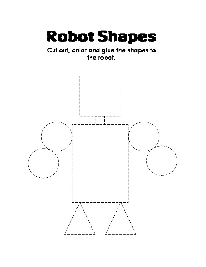 Printable Books For Toddlers Shapes