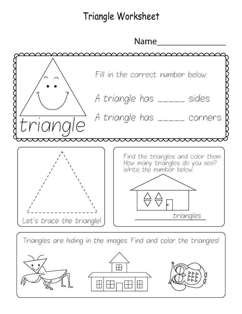 Printable Worksheets Geometry