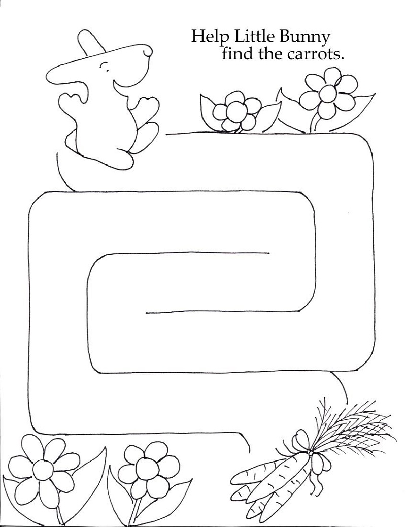 Printable Worksheets Maze