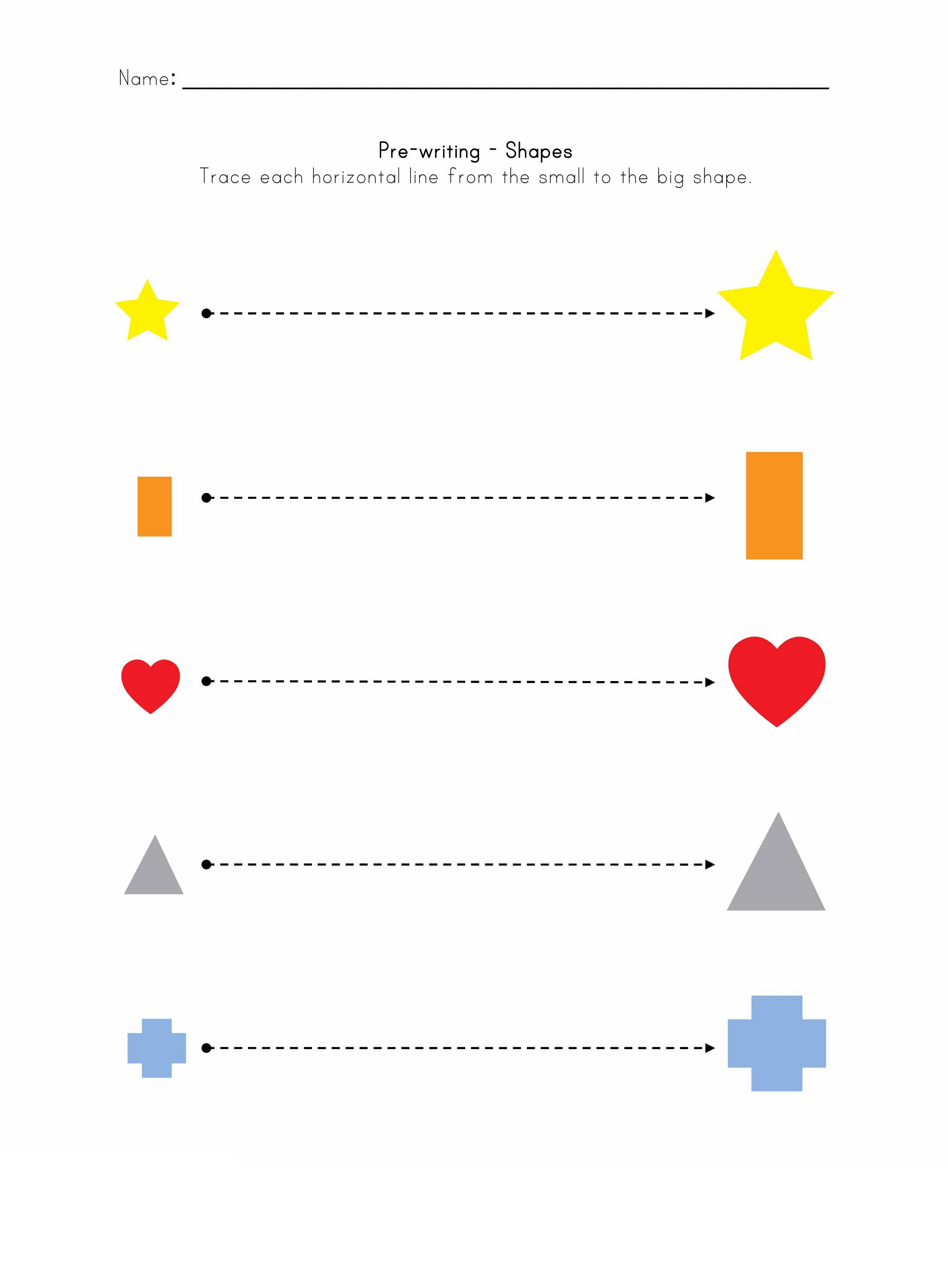 Printables For 3 Year Olds Printables For 3 Year Olds Pre-writing