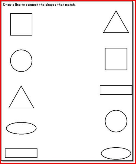 Printables For 3 Year Olds Printables For 3 Year Olds Shapes