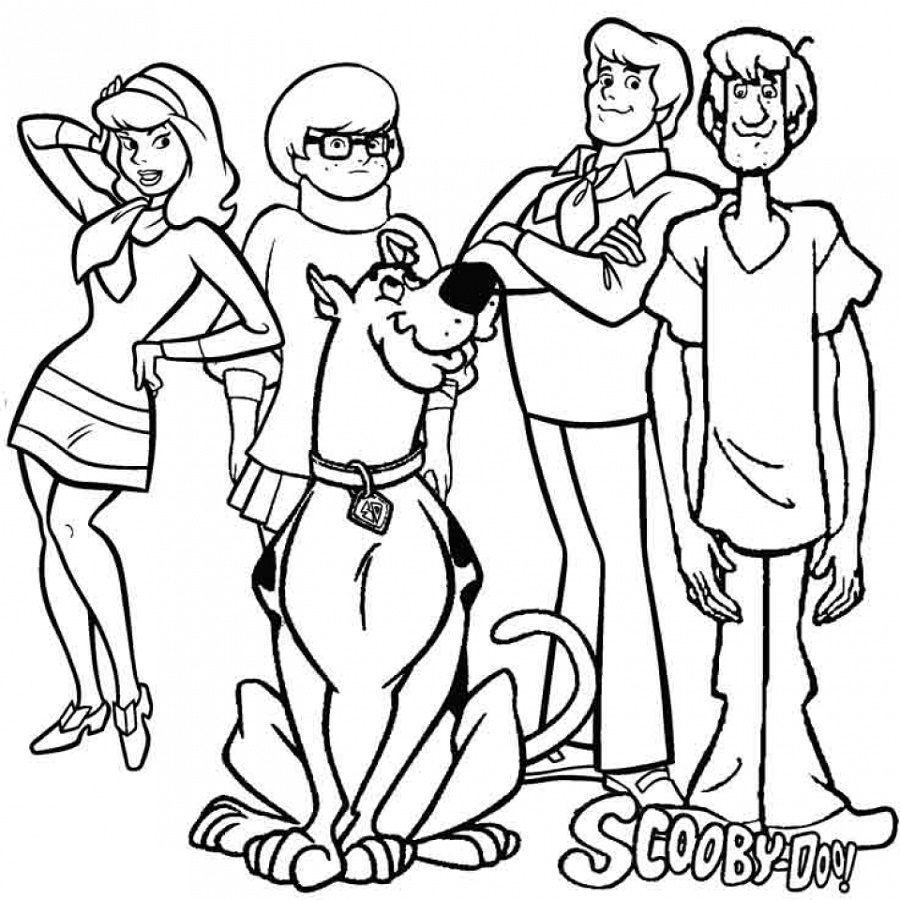 Scooby-Doo-Coloring-Pages-Characters