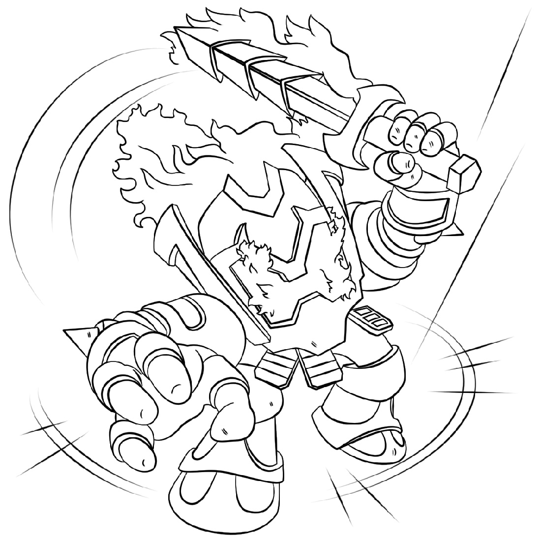 Skylanders Imaginators Coloring Pages Printable
