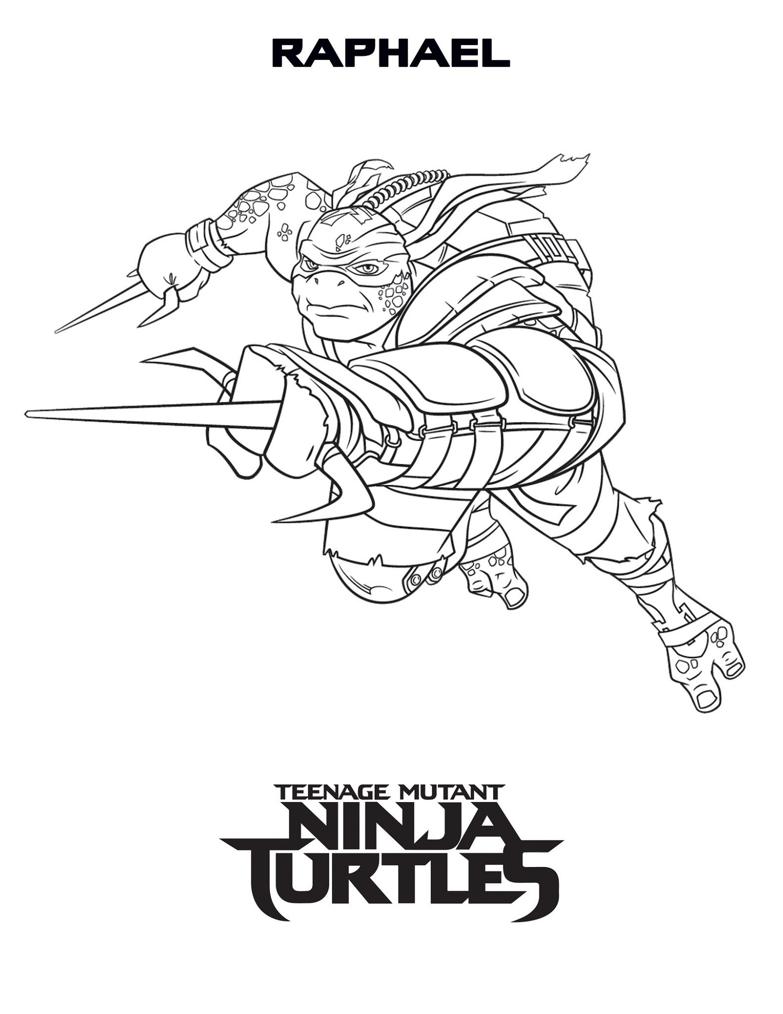Teenage Mutant Ninja Turtles Coloring Pages To Print | K5 ...