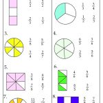 Third Grade Math Worksheets Fraction