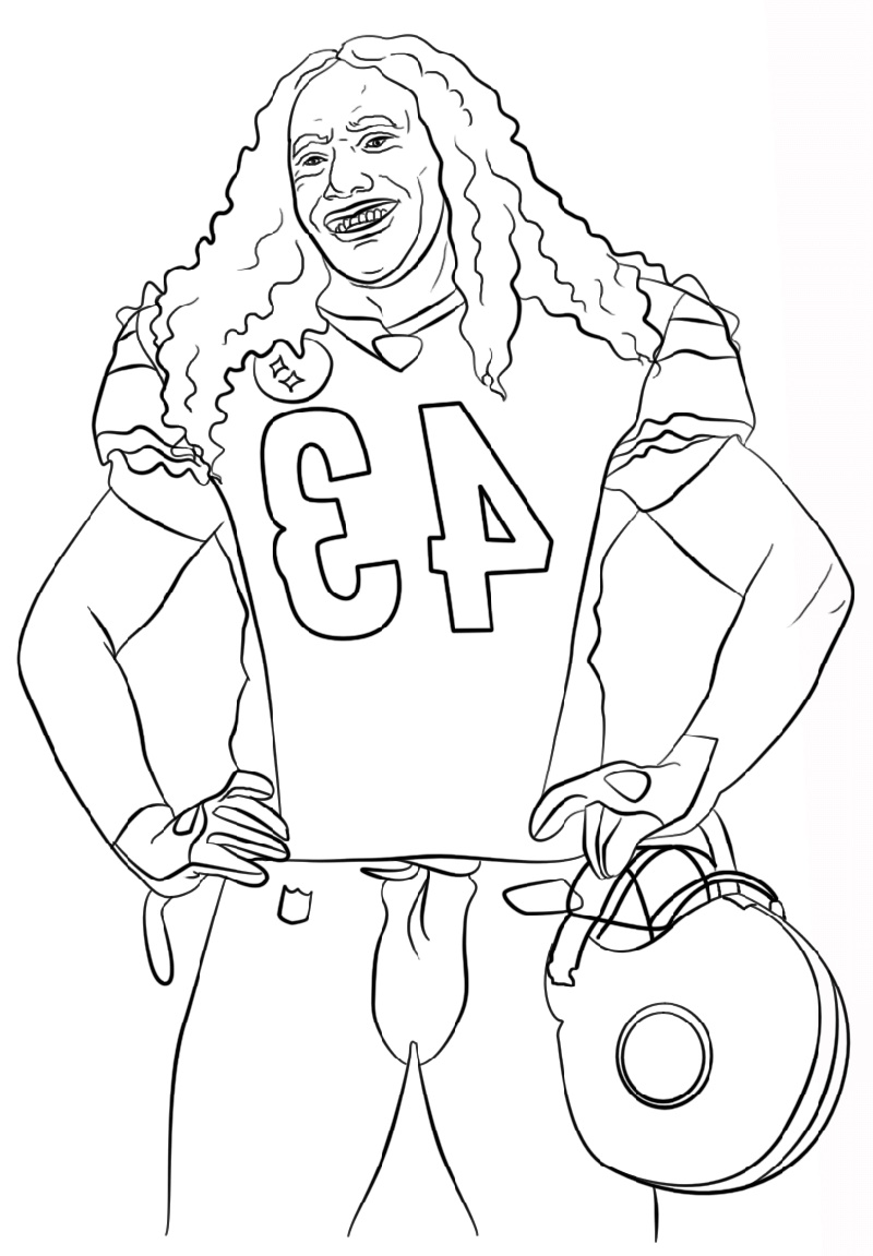 Tom Brady Coloring Pages Printable