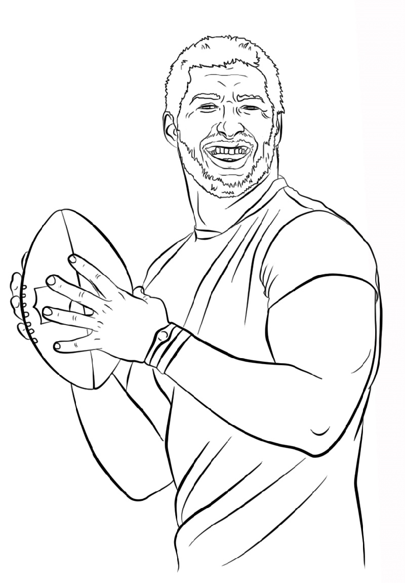 Tom Brady Coloring Pages To Print