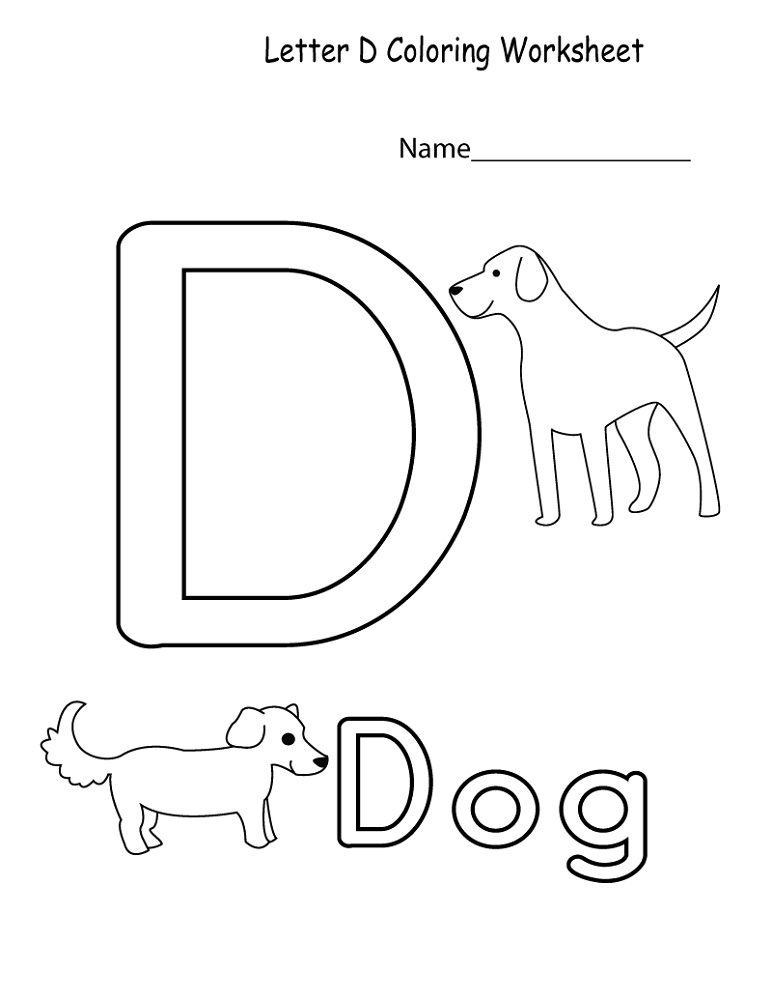 Worksheets For 4 Year Olds Free Printable Alphabet