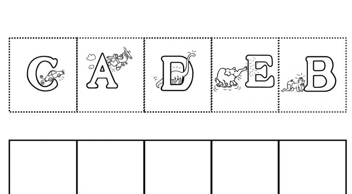 Worksheets For 4 Year Olds Free Printable Letter