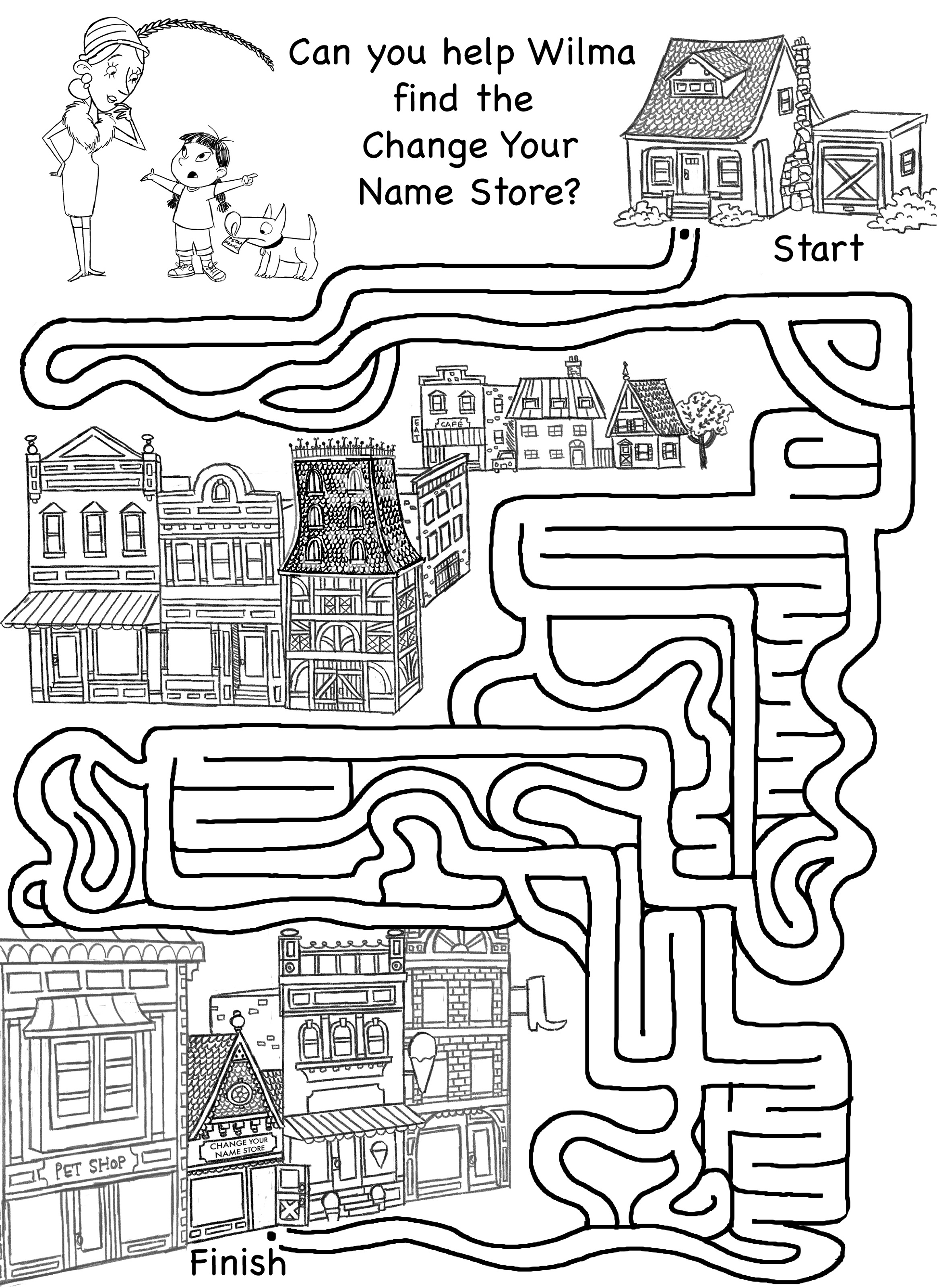 Activity Sheets For Elementary Students MazeActivity Sheets For Elementary Students Maze