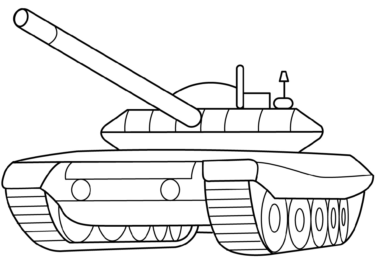 Army Tank Coloring Pages Armored