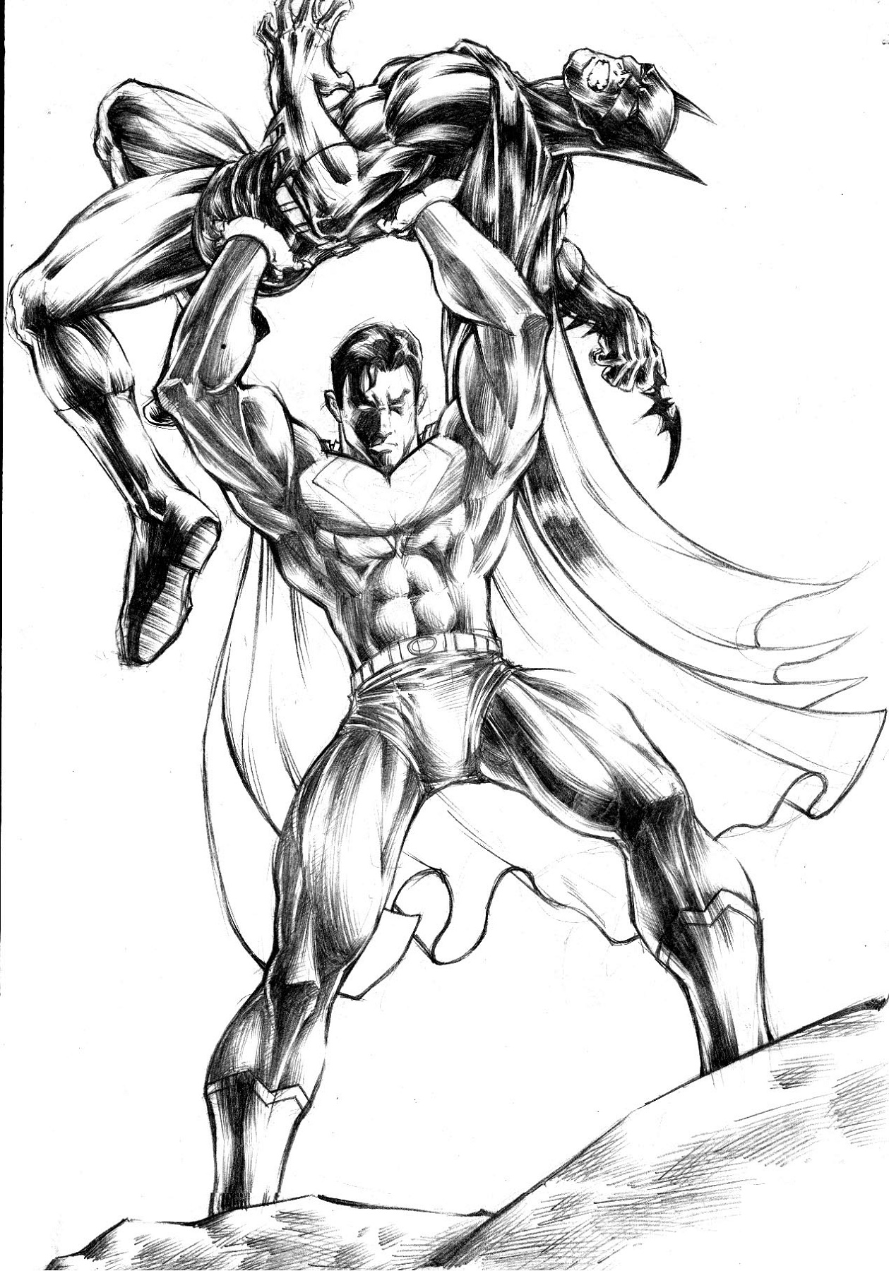Batman Vs Superman Coloring Pages Dawn Of Justice