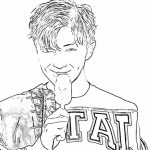 Bts Coloring Pages Free