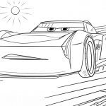 Cars 3 Coloring Pages Jackson Storm