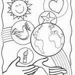 Creation Coloring Pages Free