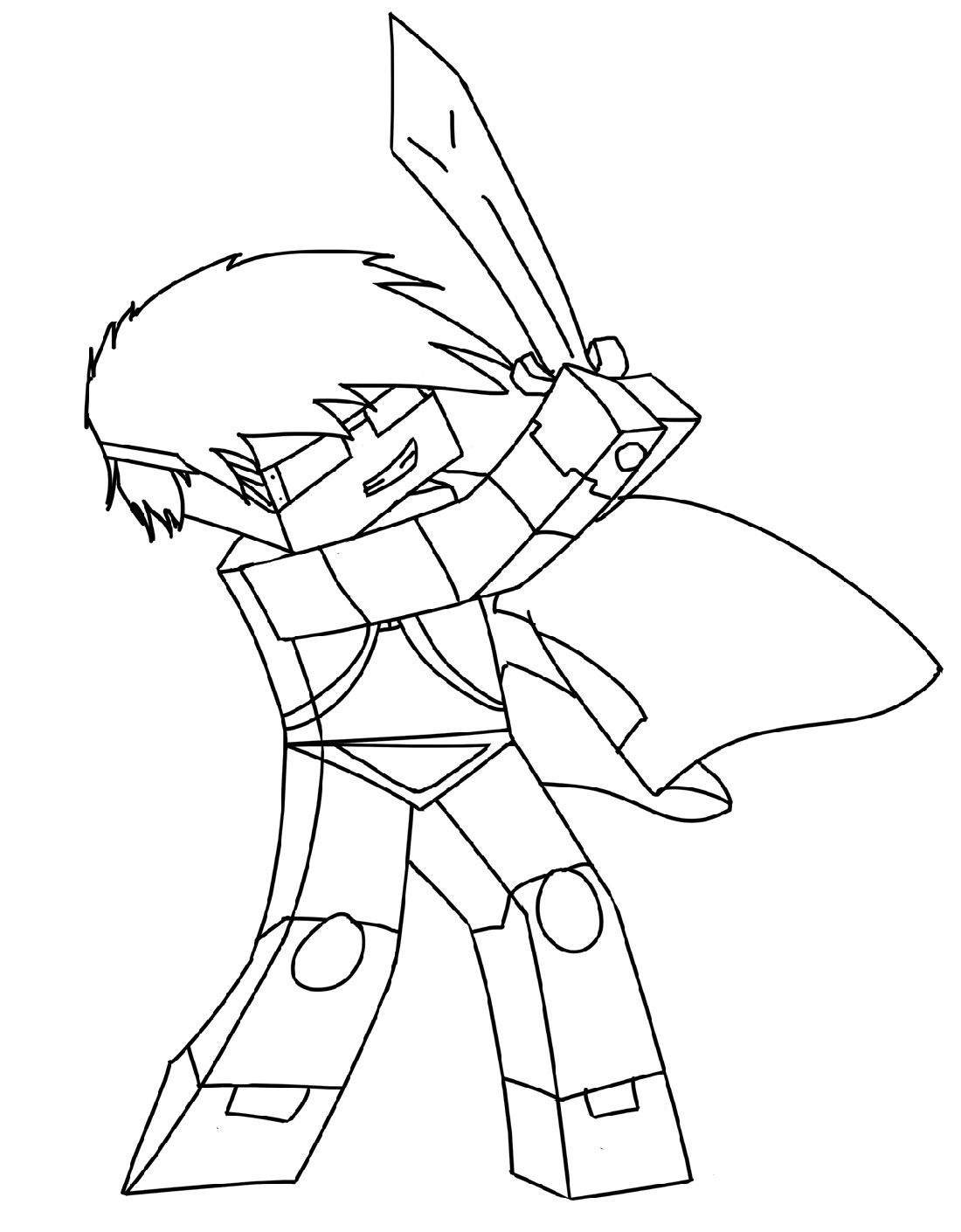 Dantdm Coloring Pages Pictures