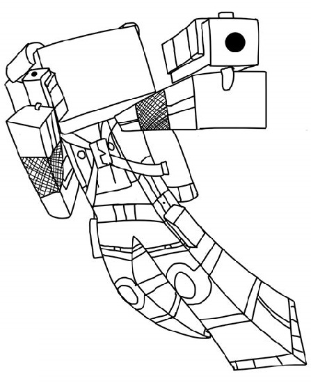 Dantdm Coloring Pages Printable