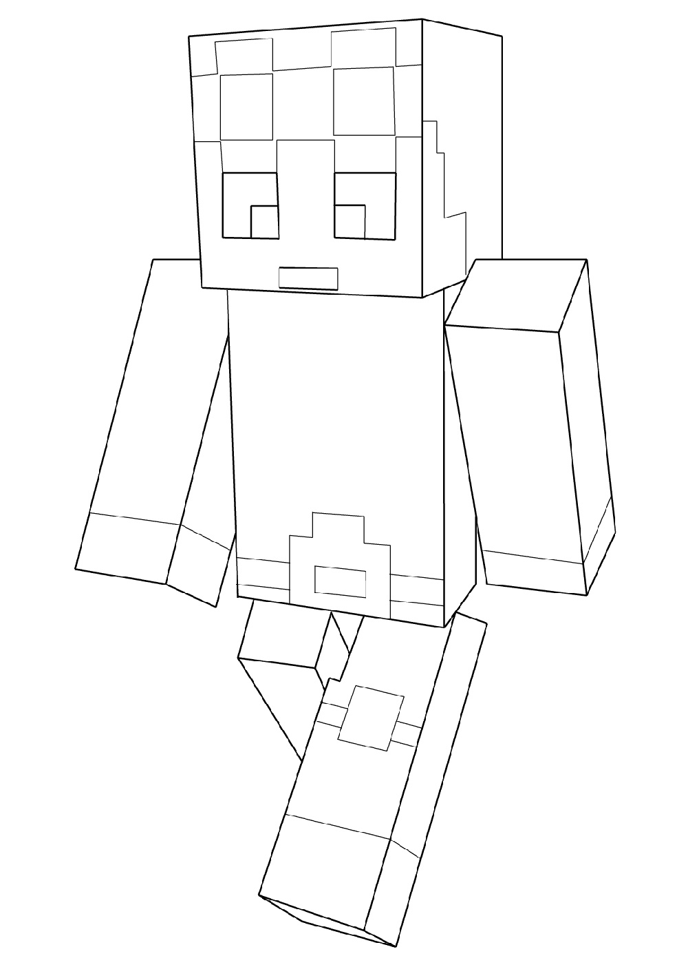 Dantdm Coloring Pages To Print