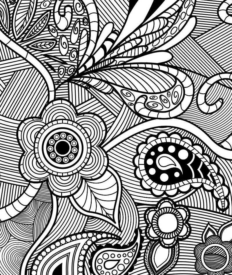 Design Coloring Pages Flower