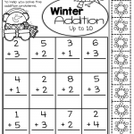 Easy Math Sheets Addition