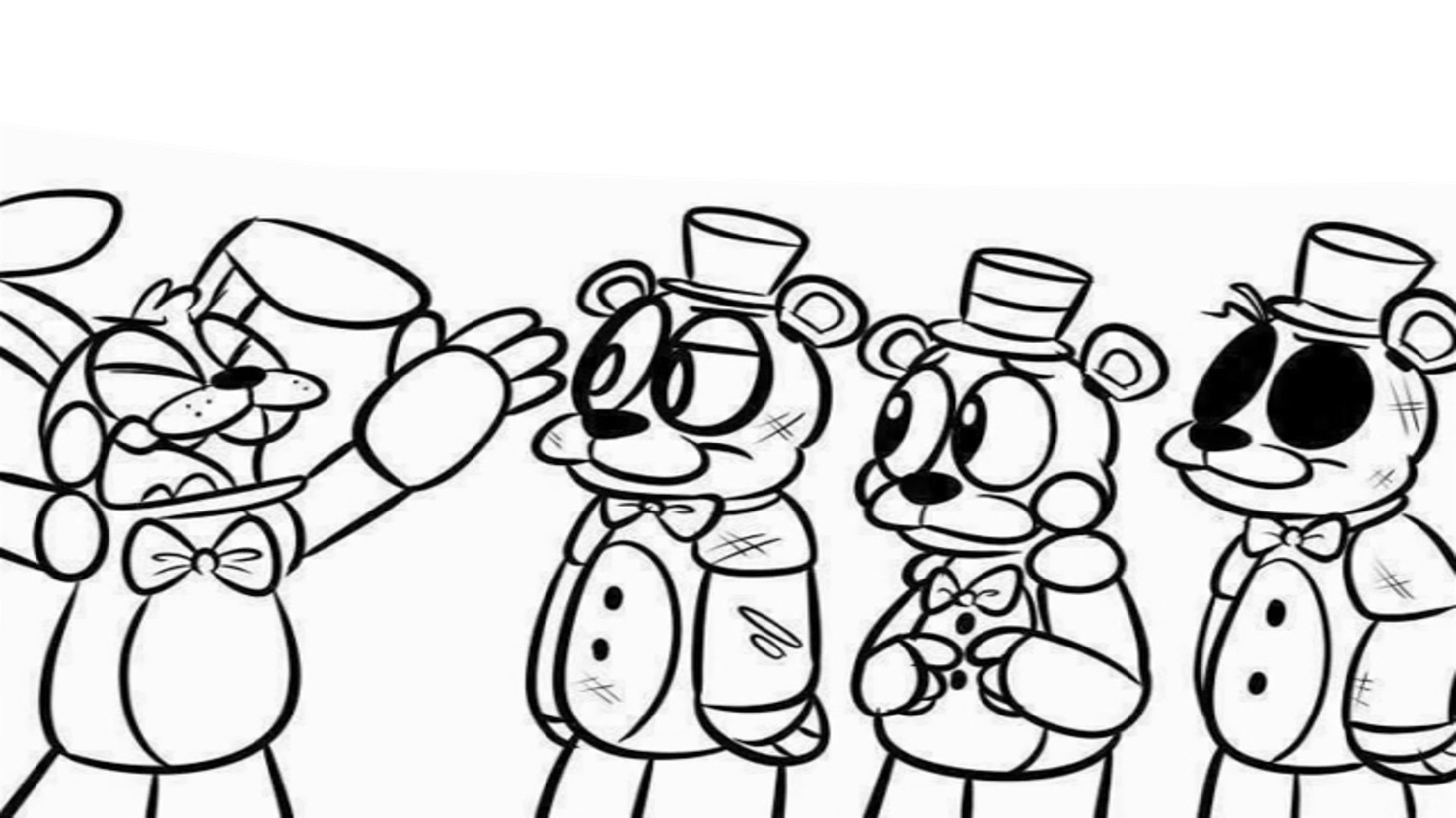 Five Nights At Freddy's Coloring Free