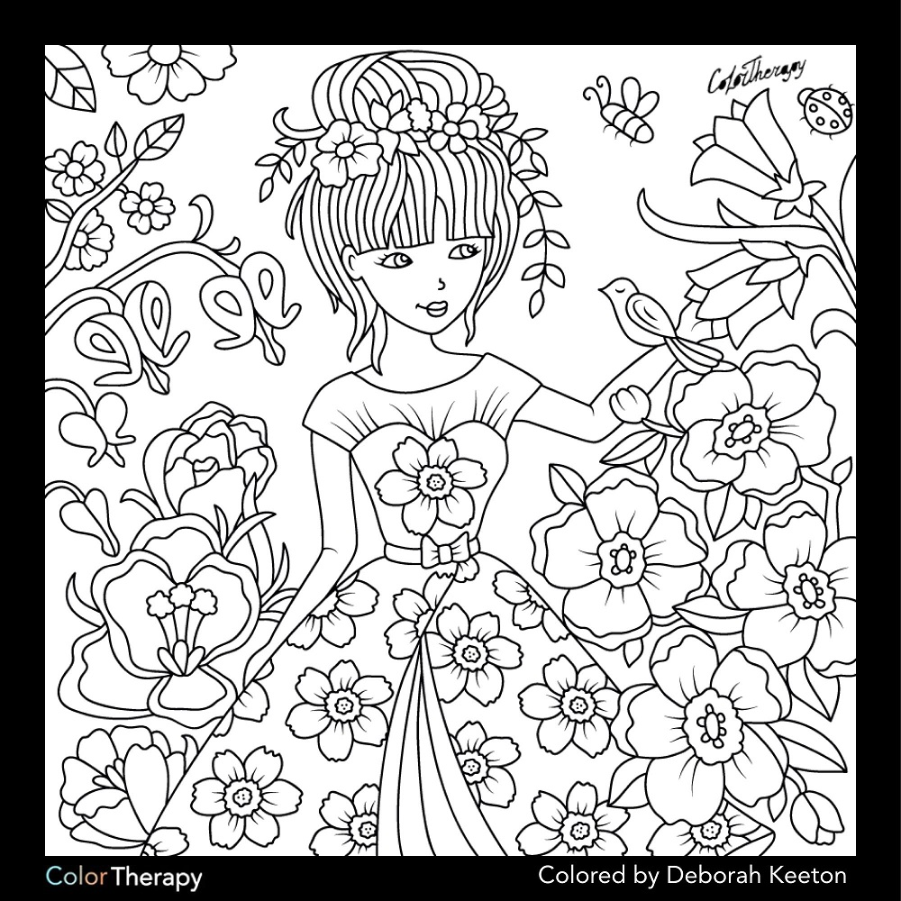 Free Coloring Apps For Adults Color Therapy App