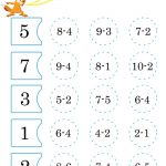 Free Math Worksheets To Print For Kids