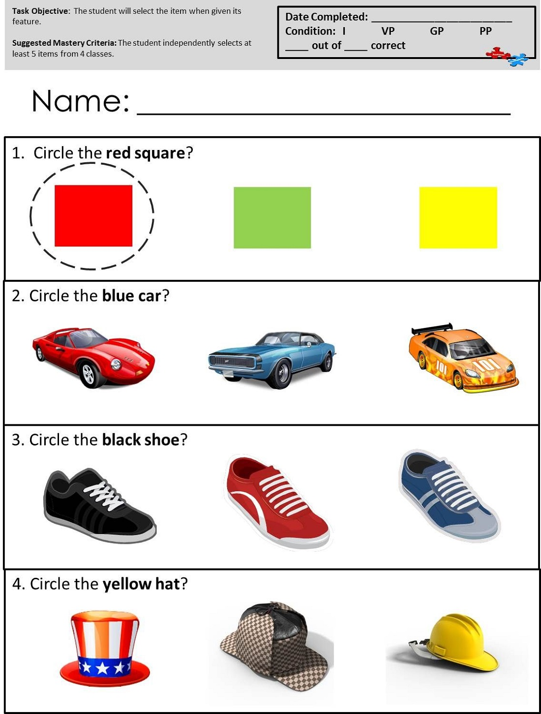image relating to Free Printable Resources for Autism titled Cost-free Printable Routines For Autism K5 Worksheets