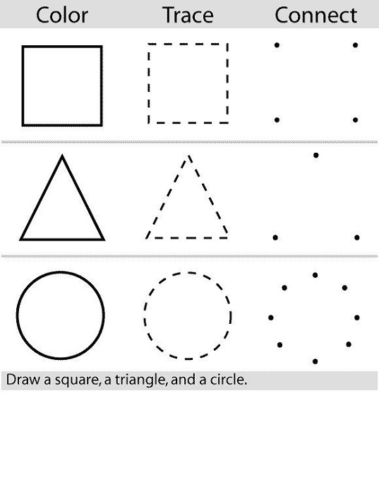 Free Printable Activities Shapes