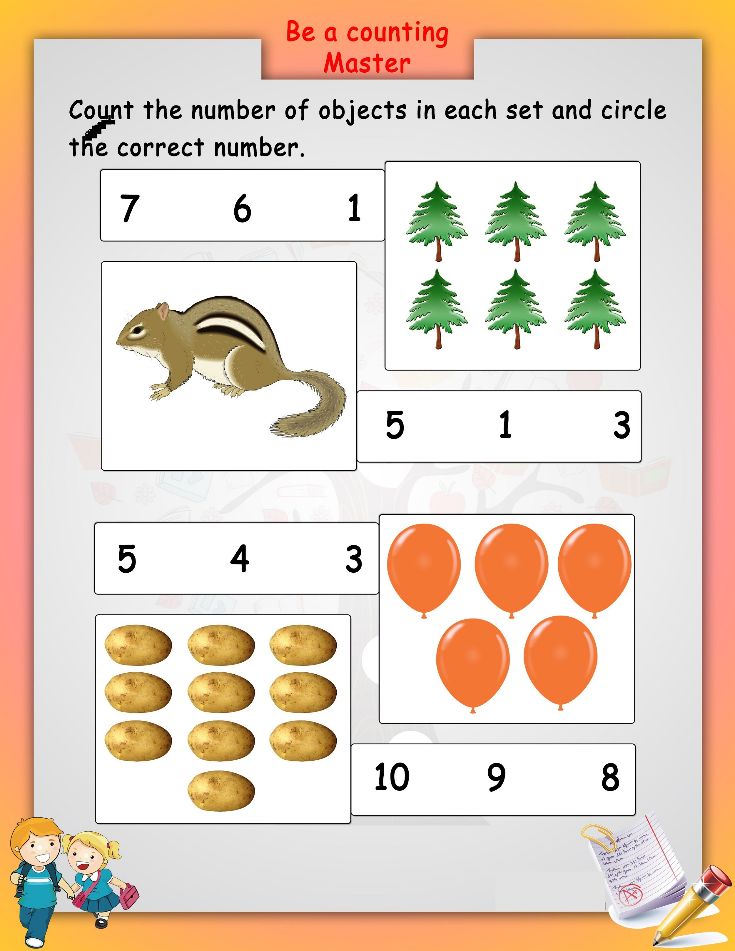 Free Printable Worksheets For Lkg Math