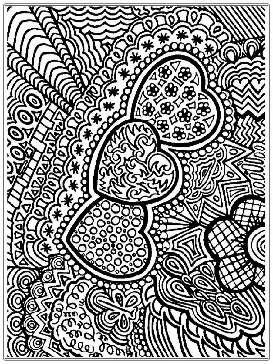 Hard Coloring Sheets Abstract