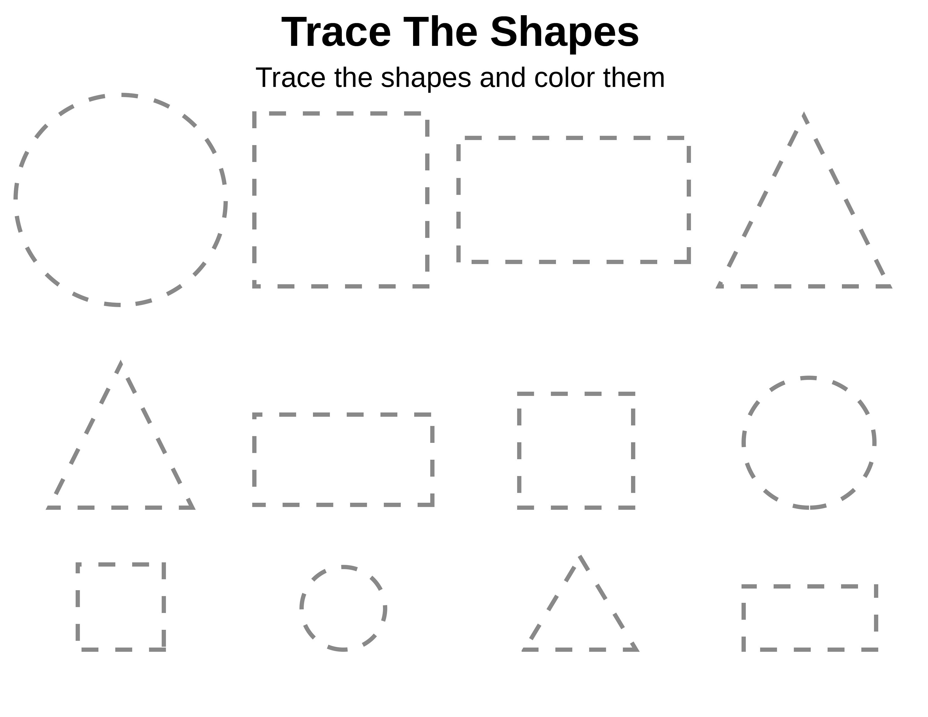Homework-Worksheets-Tracing