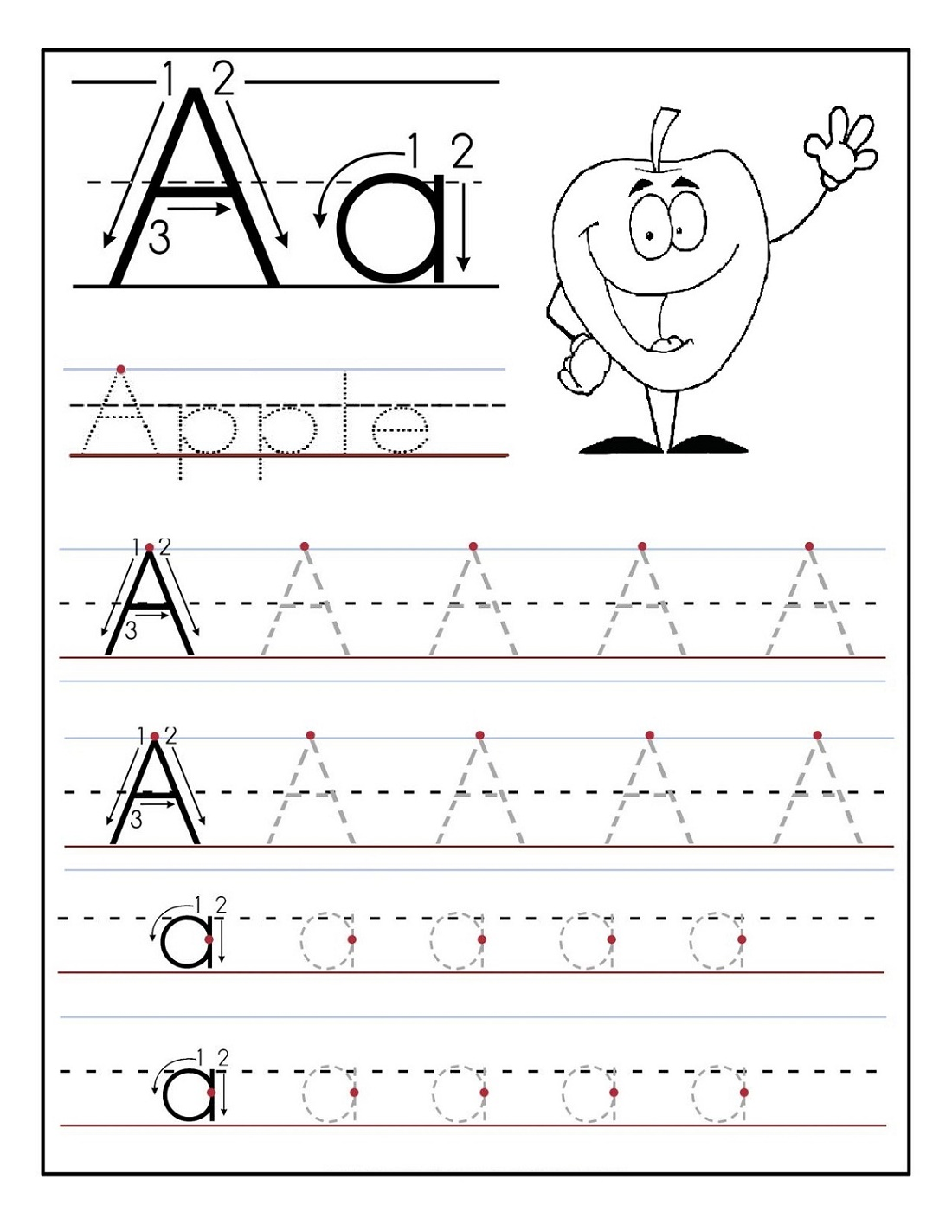 Learning Activities for Preschoolers Printables Letter