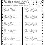 Math Practice Sheets Addition