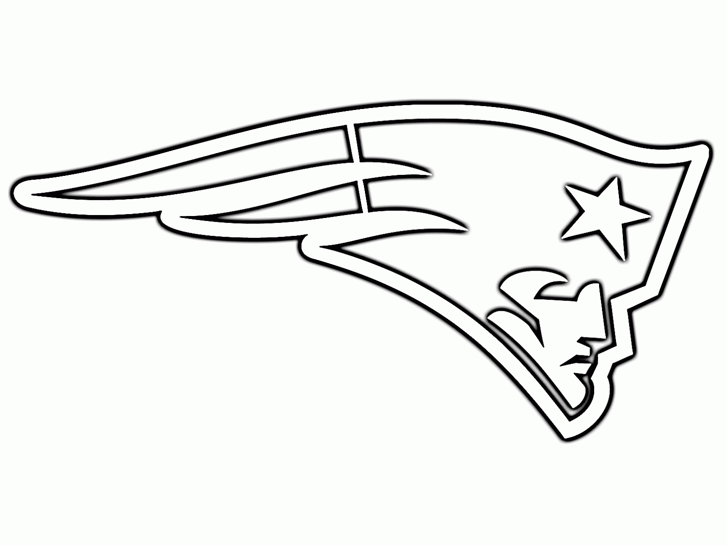 New England Patriots Coloring Pages Printable