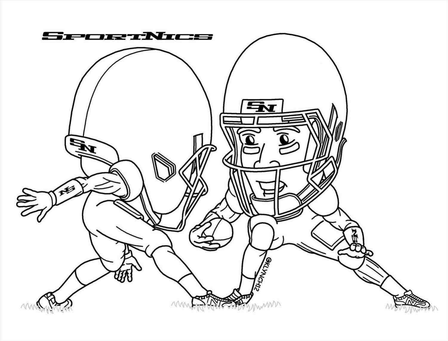 Odell Beckham Jr Coloring Page Free