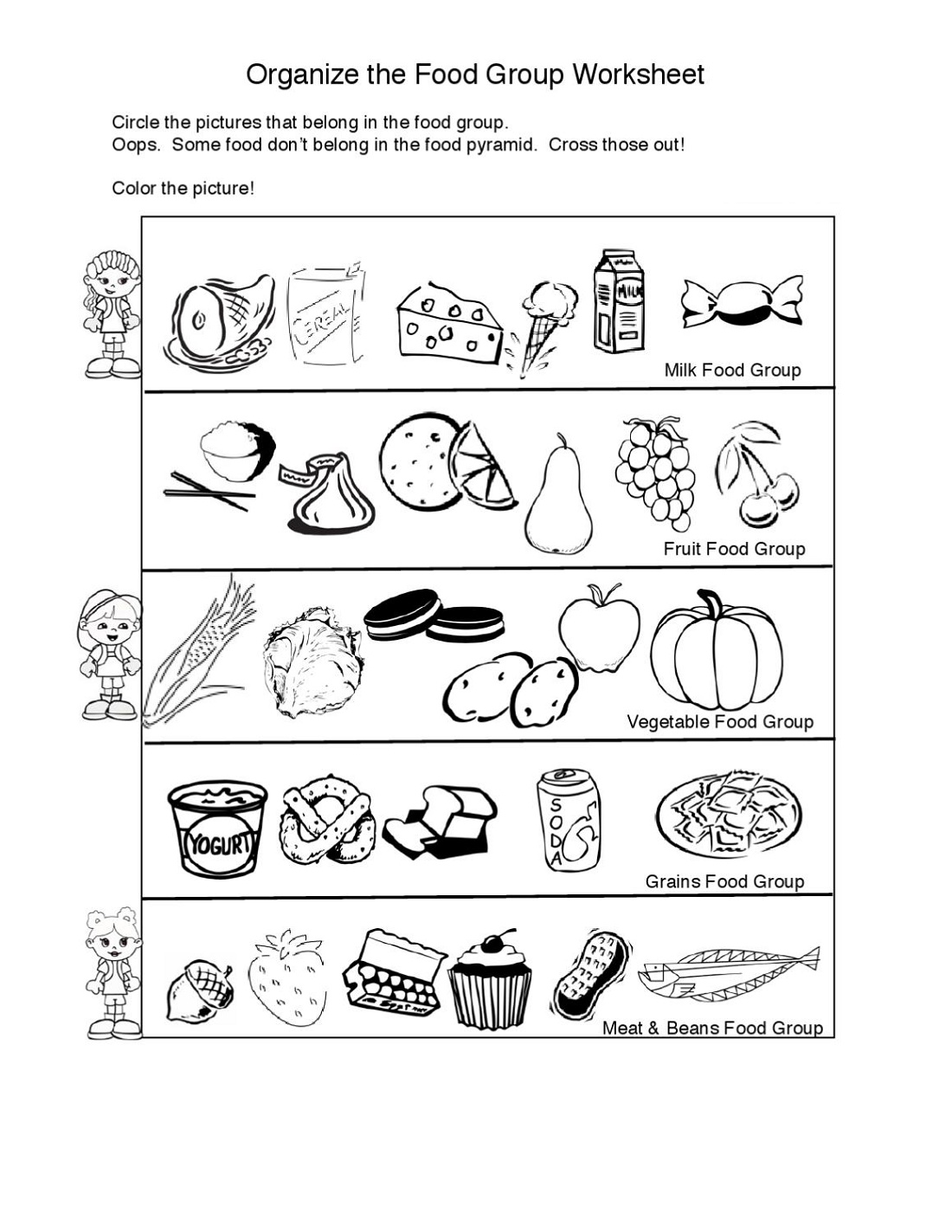 Primary School Worksheets Science