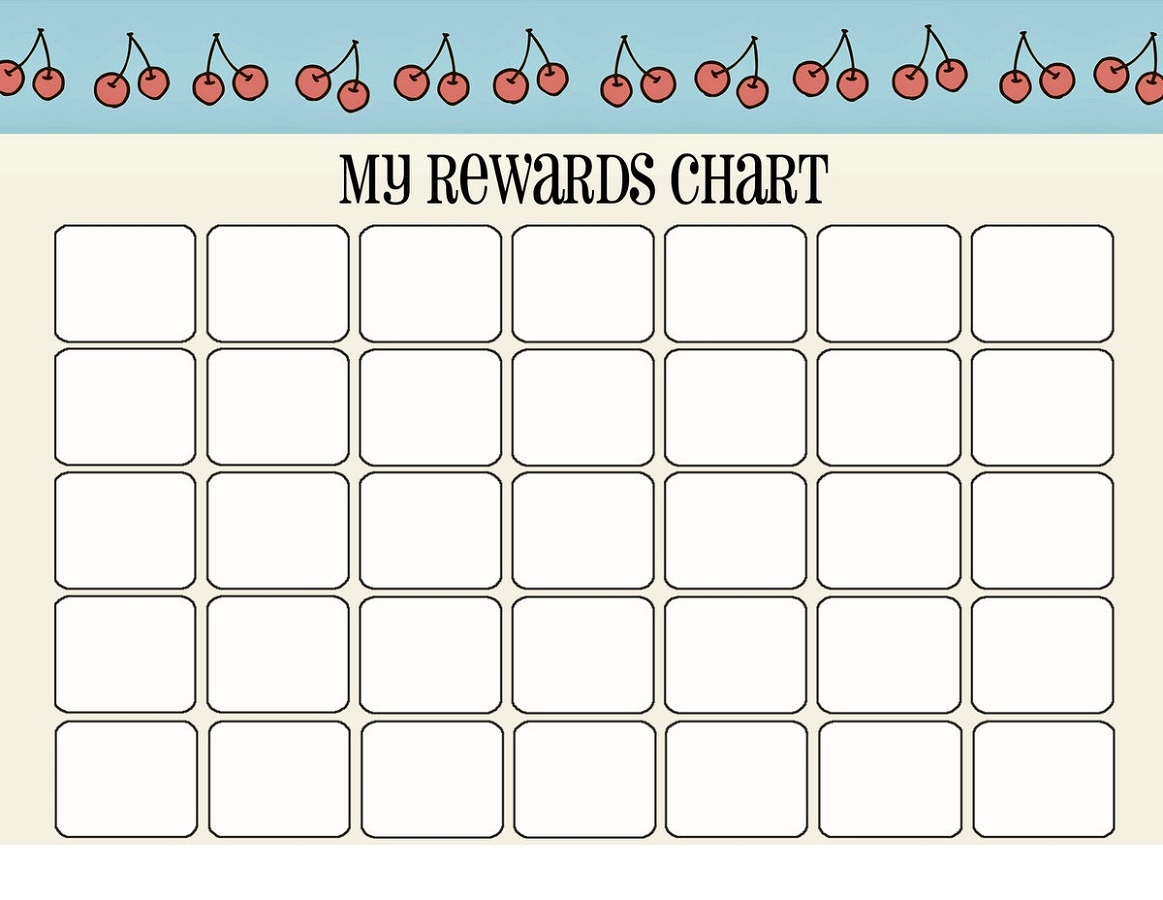 Printable Reward Charts Sticker