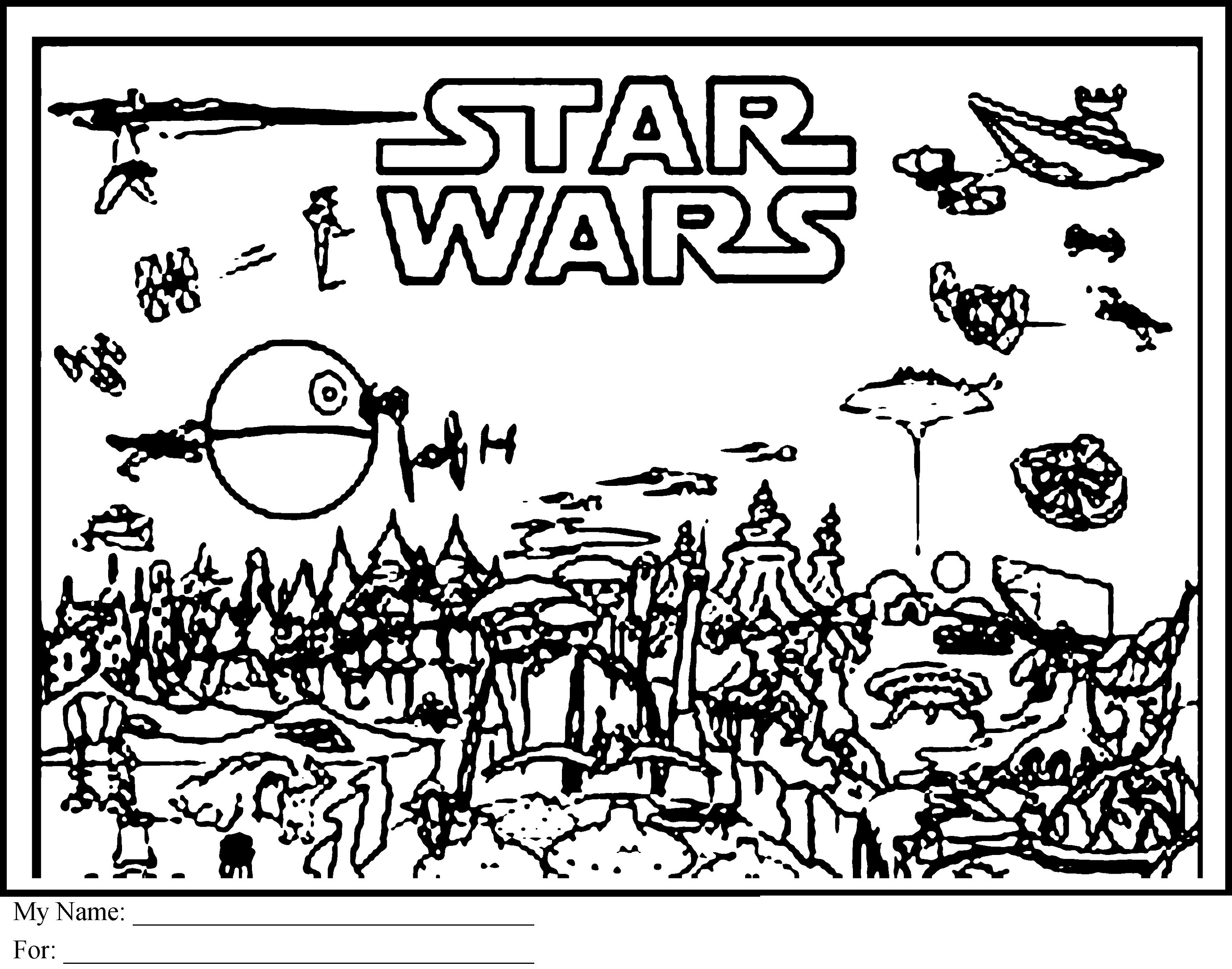 Rogue One Coloring Pages To Print