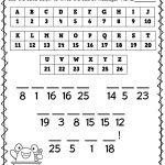 School Math Worksheets To Print 1st Grade